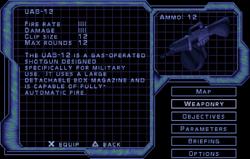 SF2 UAS-12 Screen