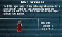 SFLS M61 Grenade Screen