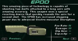 SFDM EPDD Screen