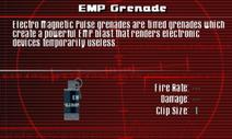 SFCO EMP Grenade Screen