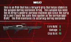 SFCO M60 Screen