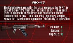 SFCO AK-47 Screen