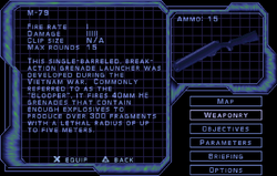 SF3 M-79 Screen