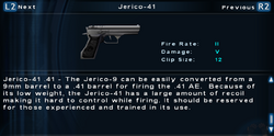 SFTOS Jerico-41 Screen