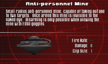 SFCO Anti-personnel Mine Screen