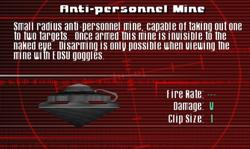 SFCO Anti-personnel Mine Screen
