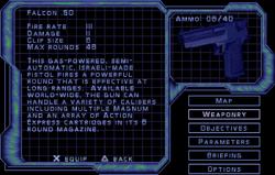 SF3 Falcon .50 Screen