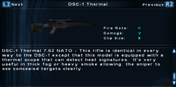 SFTOS DSC-1 Thermal Screen