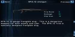 SFTOS SPA-12 shotgun Screen