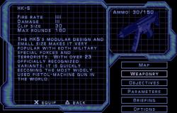 SF3 HK-5 Screen