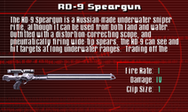 SFCO RD-9 Speargun Screen