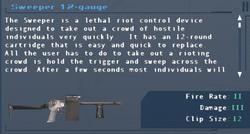 SFLS Sweeper 12-guage Screen