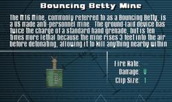 SFLS Bouncing Betty Mine Screen