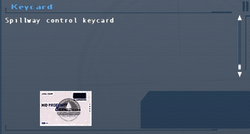 SFLS Keycard Screen