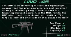 SFDM UNP .45 Screen