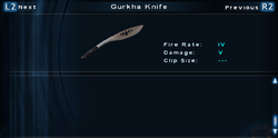 SFTOS Gurkha Knife Screen
