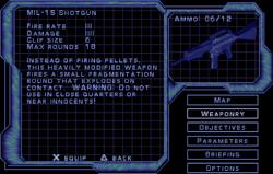 SF3 MIL-15 Shotgun Screen