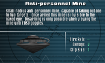 SFLS Anti-personnel Mine Screen