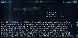SFTOS AK-47 Screen