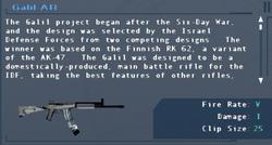 SFLS Galil AR Screen