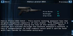 SFTOS Helico pistol-950 Screen
