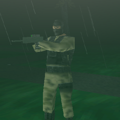 Terrorist using Nightvision Rifle