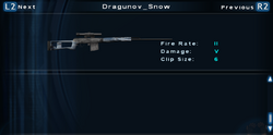 SFTOS Dragunov Snow Screen