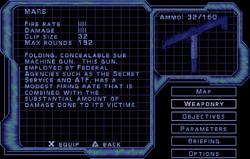 SF3 Mars Screen