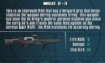 SFLS M60 E-3 Screen
