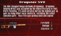 SFCO Dragunov SVD Screen