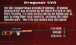 SFCO Dragunov SVD Screen