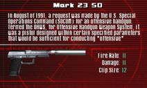SFCO Mark 23 SD Screen