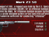 Weapons of Syphon Filter: Combat Ops