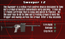 SFCO Sweeper 12 Screen