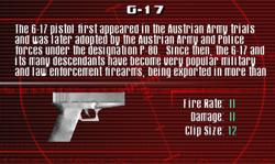 SFCO G-17 Screen