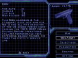 Weapons of Syphon Filter 3