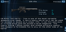 SFTOS C8 rifle Screen