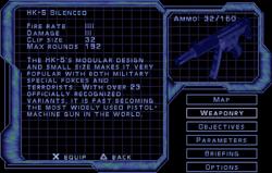 SF2 HK-5 Silenced Screen