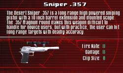 SFCO Sniper .357 Screen
