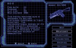 SF2 BIZ-2 Screen