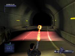 SF2 Flamethrower Screen