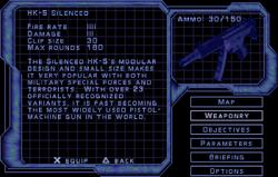 SF3 HK-5 Silenced Screen