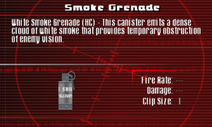 SFCO Smoke Grenade Screen