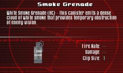 SFCO Smoke Grenade Screen