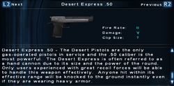 SFTOS Desert Express .50 Screen