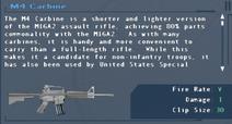 SFLS M4 Carbine Screen