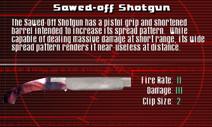SFCO Sawed-Off Shotgun Screen