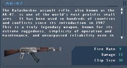 SFLS AK-47 Screen