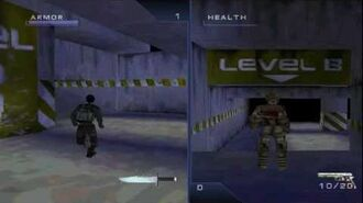 Syphon Filter 2 Multiplayer glitch, bugs, interesting place