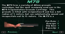 SFDM M79 Screen